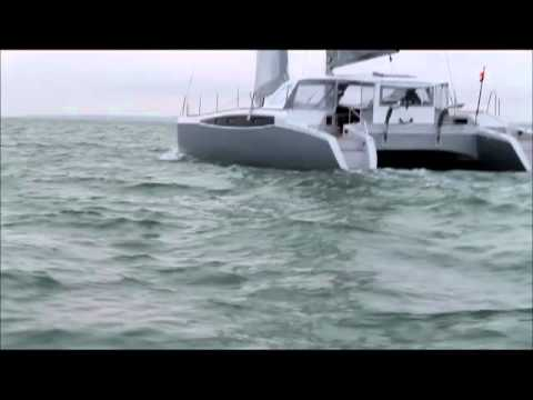 Test sail of the  Rapier 400 in light airs