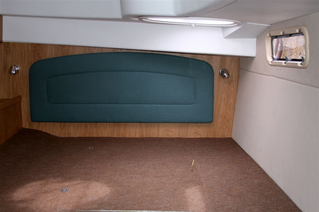 Spacious, airy double cabin