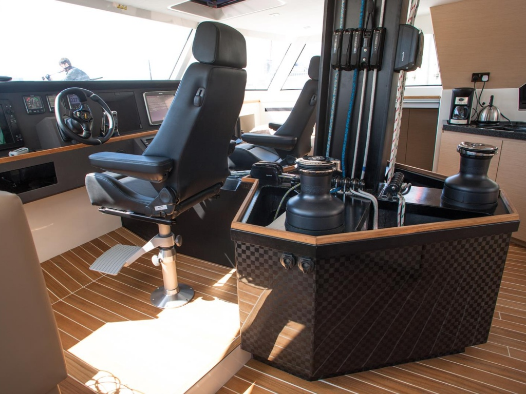 Helm and sail controls