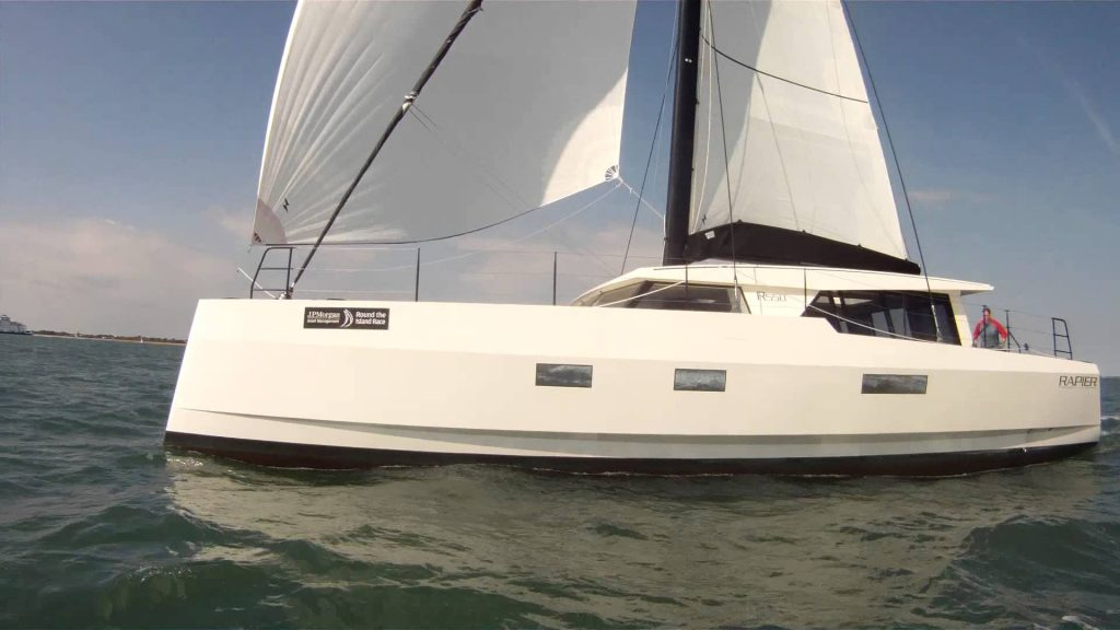 Broadblue Rapier 550 with Multihulls World