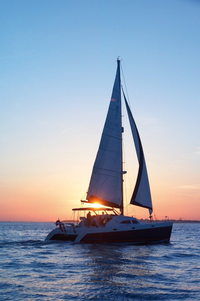 Sail off into the sunset . . .