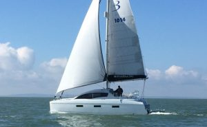 346 at the Multihull Show